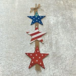 NWOT 4th of July/Patriotic Hanging Star Banner